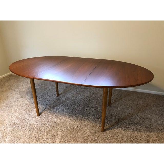 Borge Mogensen Danish Modern Teak Dining Table For Sale - Image 9 of 11