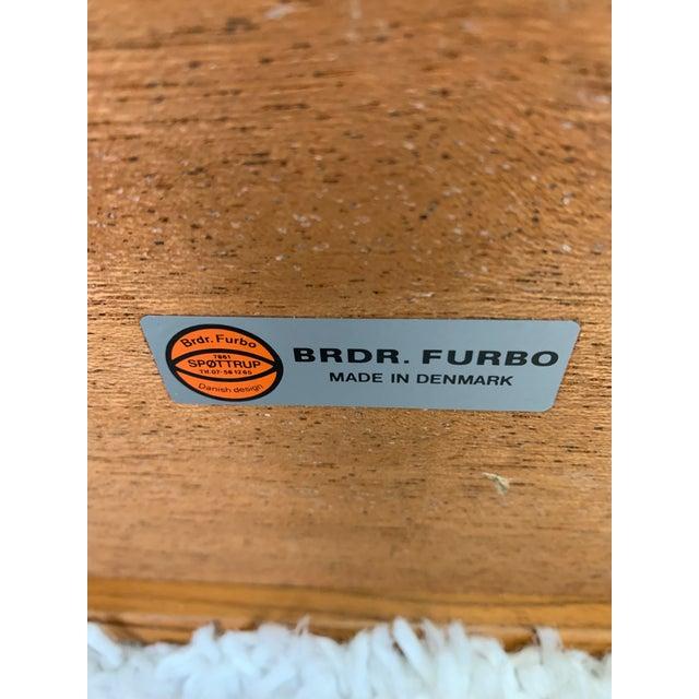 Danish Modern Teak Serving Cart by Brdr Furbo For Sale - Image 11 of 13