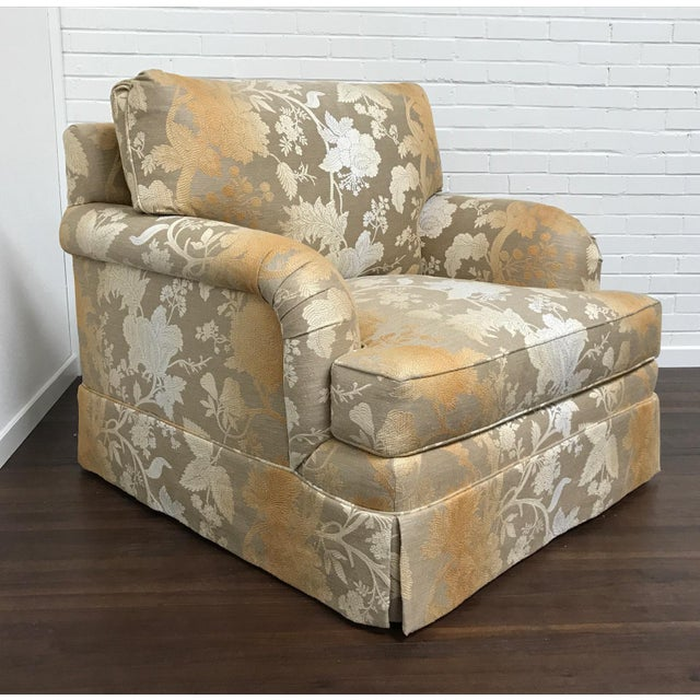 Wood RJones Adolfo Lounge Chair & Matching Ottoman - A Pair For Sale - Image 7 of 10