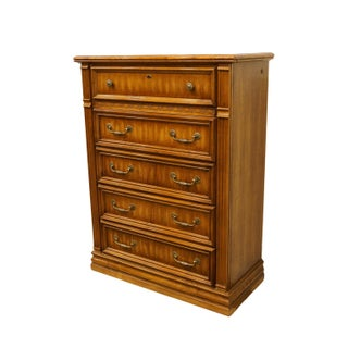 """20th Century Italian American Drew Newport Villa Collection 38"""" Chest of Drawers Preview"""