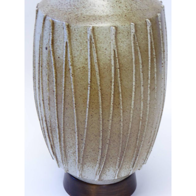 David Cressey 1960s David Cressey Pottery Table Lamp For Sale - Image 4 of 10