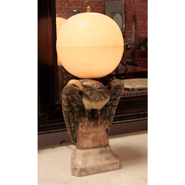 Marble Eagle Light For Sale In Los Angeles - Image 6 of 8