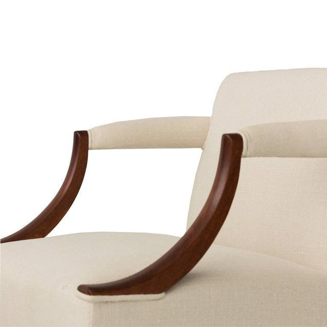 Dunbar Furniture Edward Wormley Pair of Armchairs For Sale - Image 4 of 7