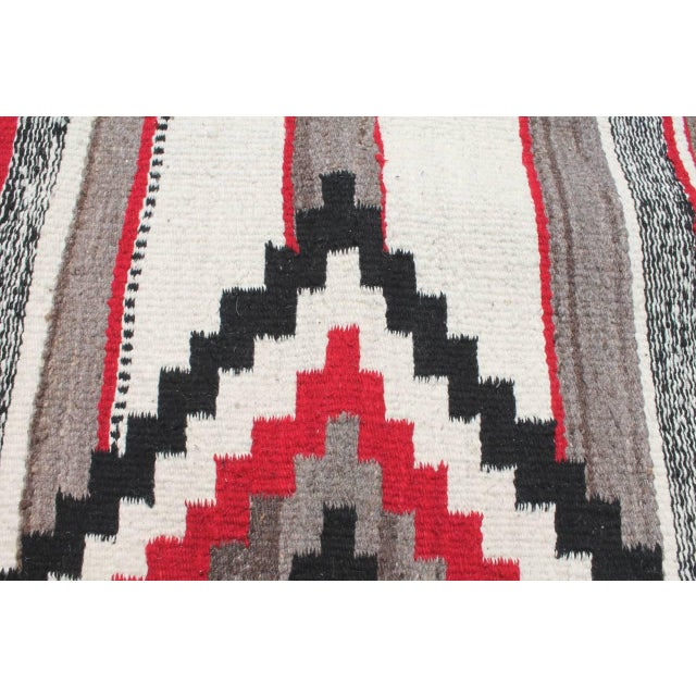 Third Phase Old Style Granado Navajo Weaving For Sale - Image 4 of 5