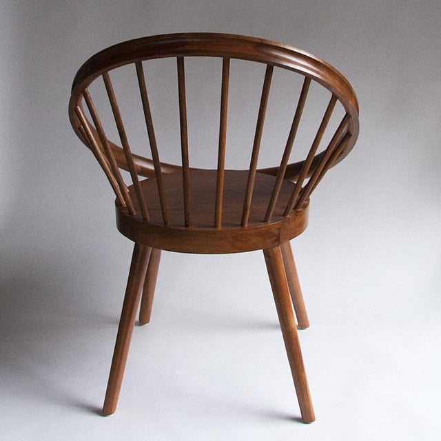 This is a brand new mid-century, Danish modern style chair designed by Yngve Ekström and hand crafted in Java, Indonesia....