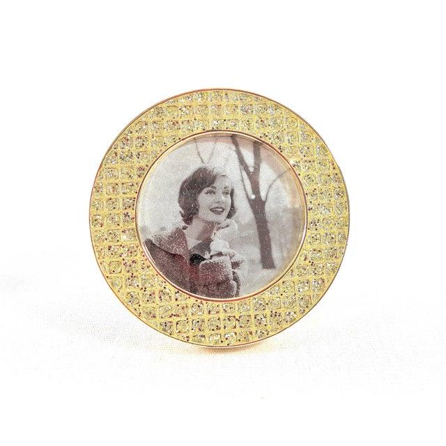 Three Mini Diamond Photo Frames by Milano Series For Sale - Image 5 of 9