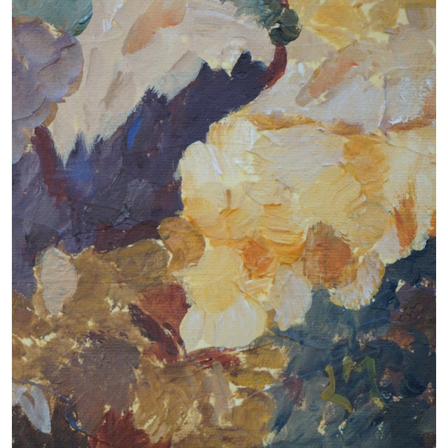 """2020s """"Microclimates"""" Abstract Landscape Painting by Laurie MacMillan, Framed For Sale - Image 5 of 6"""