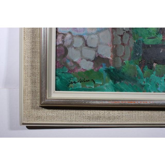 "Bertil Wahlberg ""Sorrento"" Oil Painting - Image 4 of 4"
