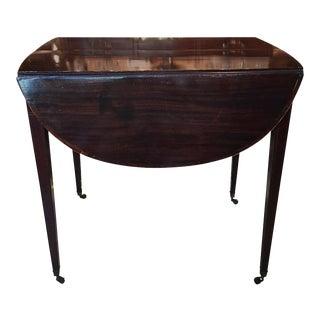 George III Pembroke Table For Sale