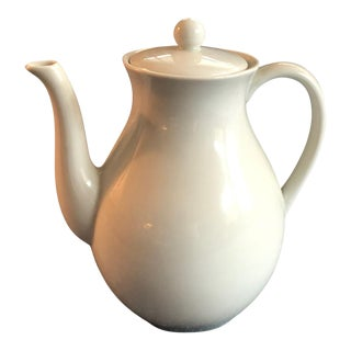 Chocolate Porcelain Coffee or Tea Pot