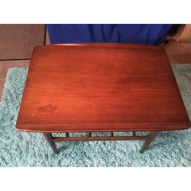 Lane Mid Century Modern Walnut Coffee Table - Image 3 of 10