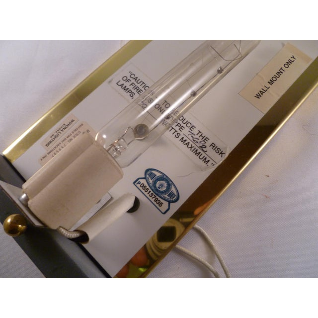 1990s Baldinger Architectural Lighting Half Cylinder Sconce For Sale In New York - Image 6 of 8