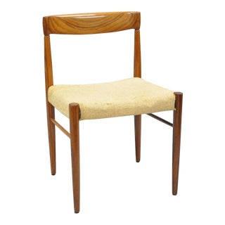 Vintage Hw Klein for Bramin Mid Century Danish Modern Rosewood Dining Side Chair