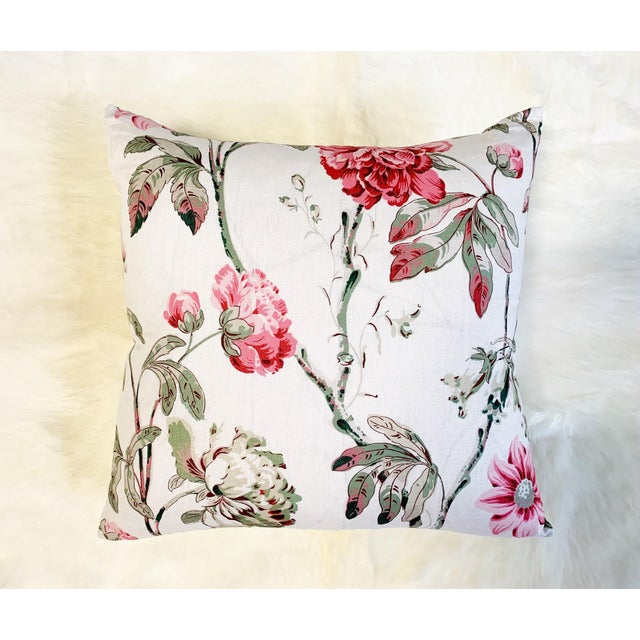 "2010s Schumacher Daydream Pillow, 20"" For Sale - Image 5 of 5"