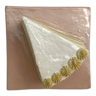 Pop Art Surface Ceramics Cake Tile For Sale