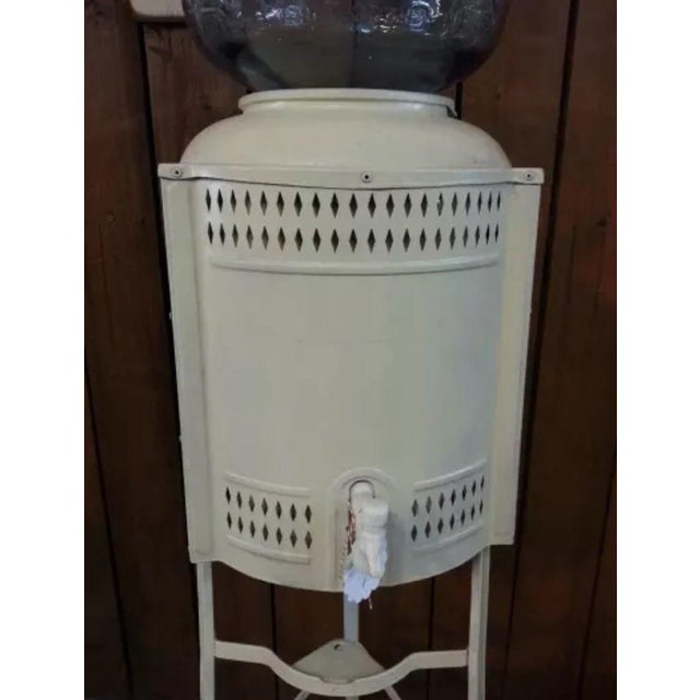 Vintage Water Cooler For Sale - Image 4 of 4