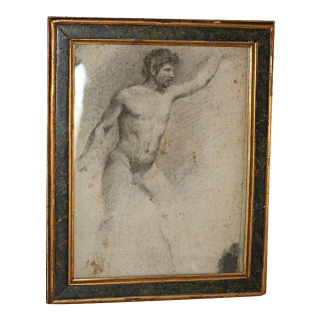 Italian Academy Drawing For Sale