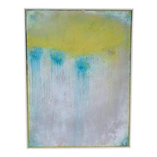 Patina, III. 2018 Original Framed Oil Pastel by C. Damien Fox