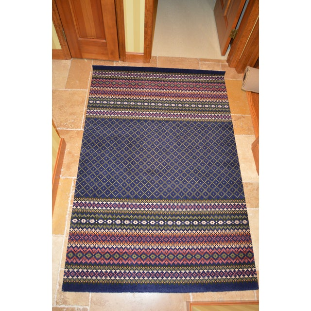 Late 20th Century Vintage Laura Ashley Rug - 4′ × 6′ For Sale - Image 4 of 4
