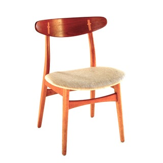 Hans Wegner Teak and Oak Dining Chairs - Set of 8