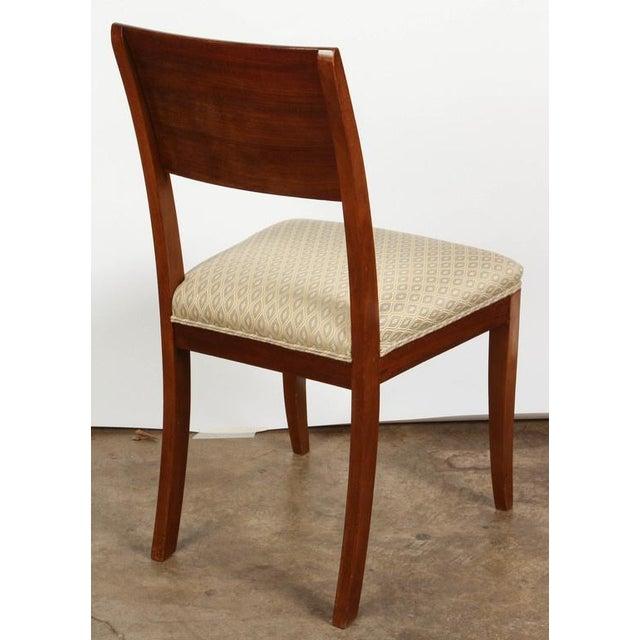 White Pair of 19th Century Danish Inlaid Mahogany Chairs For Sale - Image 8 of 8