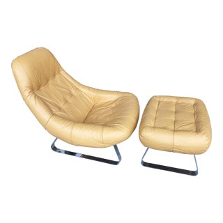 Earth Chair/Ottoman by Percival Lafer