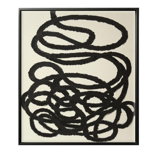 Abstract Squiggle No. 2 Acrylic on Canvas - Image 1 of 3