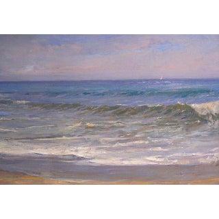 "Angel Ramiro Sanchez ""Twilight"" Oil Painting For Sale"