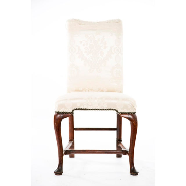 English Traditional 19th Century George I Period Side Chair For Sale - Image 3 of 5