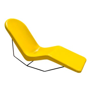 1960s Space Age Modern Fibrella Chaise Lounge For Sale