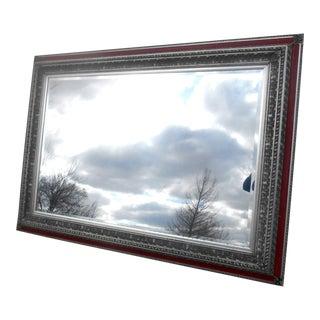 "Vintage Hollywood Regency 92"" Grand Wall / Floor Mirror For Sale"