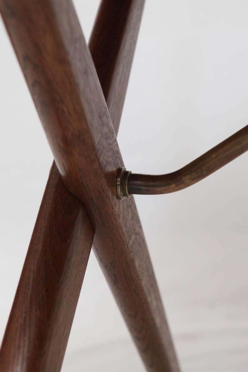 Hans Wegner AT 303 Cross Leg Table   Image 4 Of 8