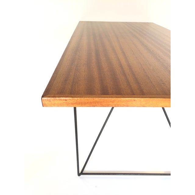 Luther Conover Luther Conover Mahogany and Iron Table, 1950 For Sale - Image 4 of 11