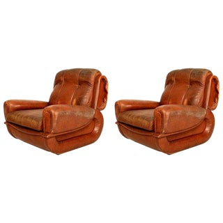 Art Deco Pair of French Armchairs For Sale