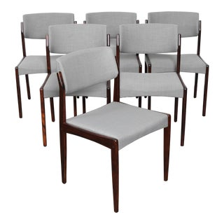 H.W. Klein Rosewood Mid Century Dining Chairs