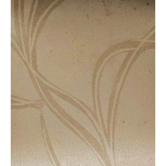 Neutral Abstract Floral Wallcovering For Sale