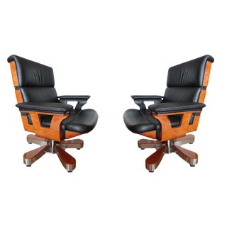 R.A.Mobili Office Chairs - A Pair For Sale