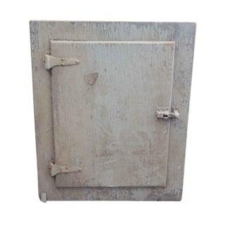Original Flush Wooden Cabinet