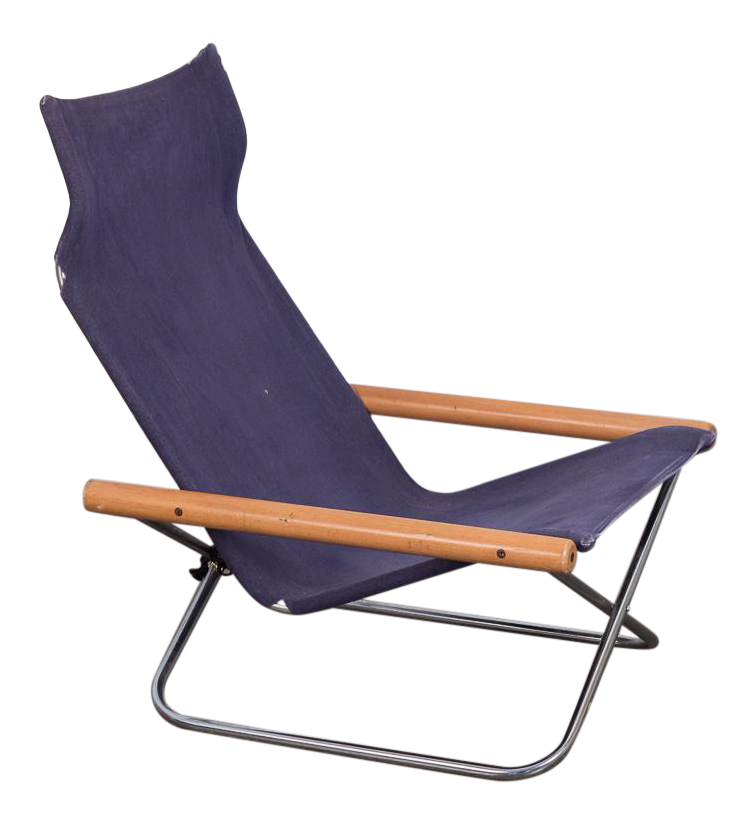 NY Folding Sling Chair By Takeshi Nii