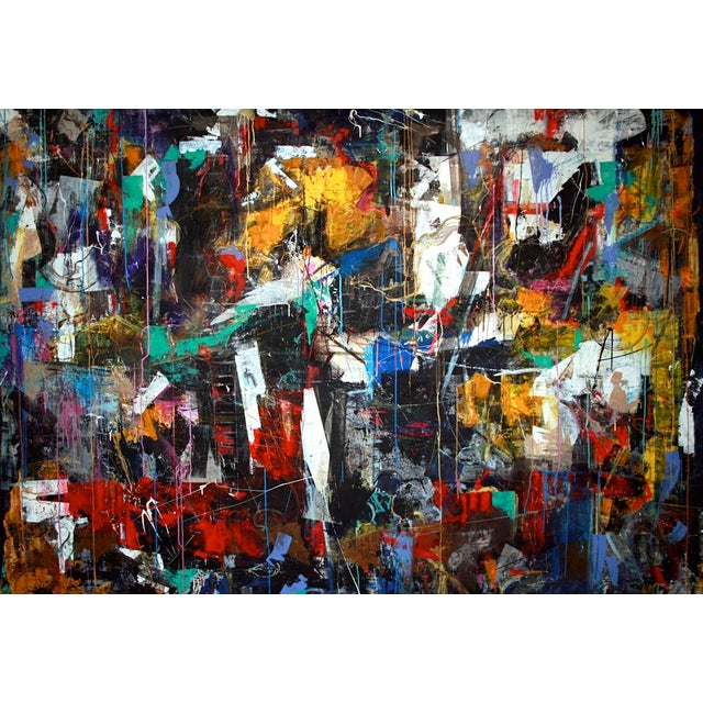 Abstract Expressionism My All by Joseph Conrad-Ferm 2014 For Sale - Image 3 of 3