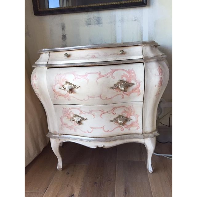 Antique 1900s Hand Painted Bombe Chest For Sale - Image 10 of 10