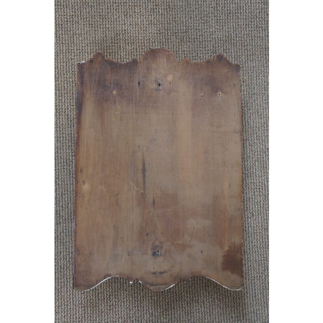 20th Century Early American Style Antique Pine Wall Hanging Medicine Cabinet For Sale - Image 12 of 13