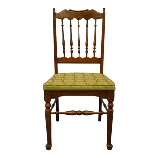 Late 20th Century Baumritter Ethan Allen Georgian Court Dining Side Chair For Sale