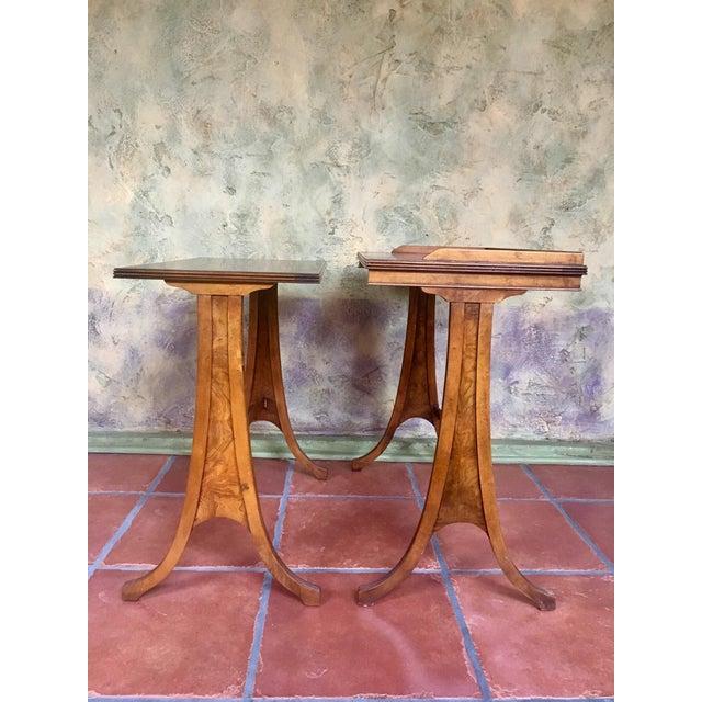 Baker Furniture Nesting Tables - Set of 2 For Sale - Image 9 of 13