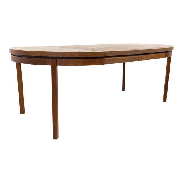 Mid Century Modern Milo Baughman for Dillingham Esprit Round Dining Table For Sale