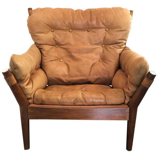 1960s John Mortensen for Magnus Olesen Model 4521 Lounge Chair For Sale - Image 10 of 10