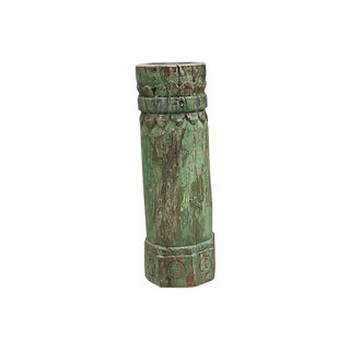 Antique French Pilar Candle Holder For Sale