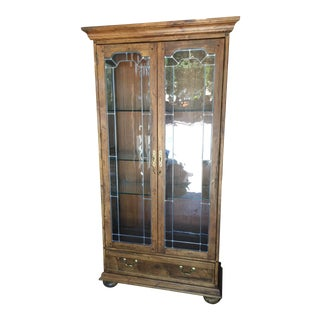 Ethan Allen Arts & Crafts Display Cabinet For Sale