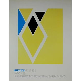 Larry Zox Exhibition Poster