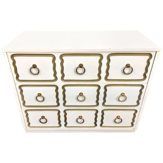 Dorothy Draper Espana Style Hollywood Regency Chest For Sale